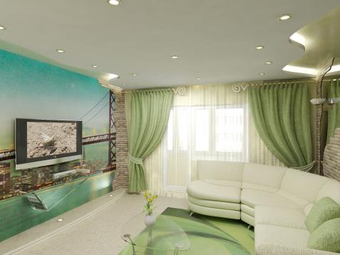 дизайн четырехкомнатной квартиры в панельном доме фото #5