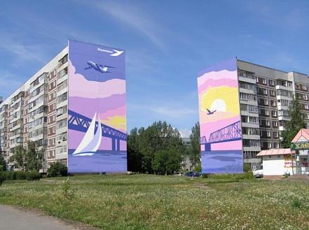 Роспись фасадов своими руками 38
